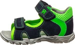 Buty dziecięce letnie Richter Shoes ze skóry na rzepy