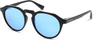 HAWKERS Diamond Black Clear Blue Warwick W18TR01 Okulary przeciwsłoneczne męskie