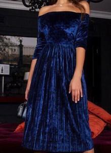 Sukienka Cikelly z długim rękawem midi hiszpanka