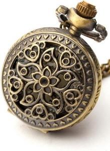 Drobiny Czasu NIEZAPOMINAJKA zegarek wisiorek na łańcuszku