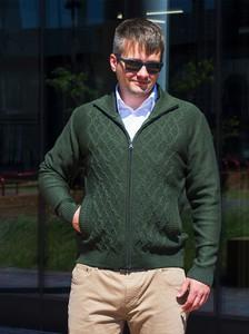 Zielony sweter M. Lasota