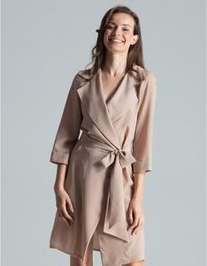 Sukienka Figl z długim rękawem ołówkowa w stylu casual