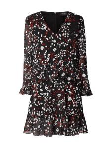 Sukienka Liu-Jo Jeans w stylu boho z dekoltem w kształcie litery v midi