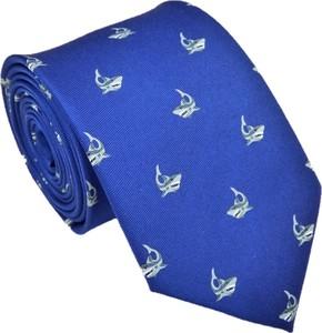 Niebieski krawat Luma Milanówek