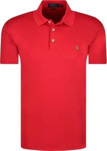Koszulka polo POLO RALPH LAUREN w stylu casual z krótkim rękawem