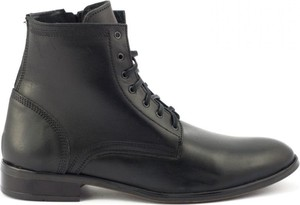 Buty zimowe Kent ze skóry sznurowane