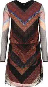 Sukienka Desigual trapezowa