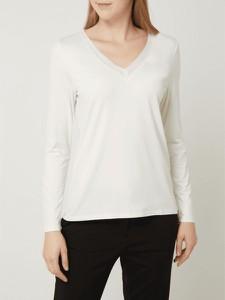 Bluzka Esprit w stylu casual z dekoltem w kształcie litery v
