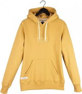 Żółta bluza Elade z bawełny