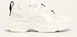Buty sportowe Desigual na platformie sznurowane