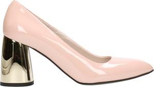 Różowe czółenka Gino Rossi