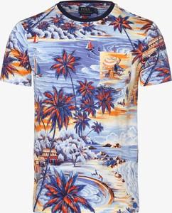 T-shirt POLO RALPH LAUREN z bawełny z nadrukiem