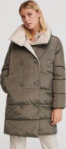 Zielony płaszcz Reserved