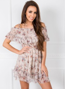 Sukienka Factory Price mini z krótkim rękawem