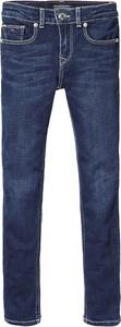 Granatowe spodnie dziecięce Tommy Hilfiger