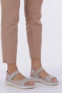 Sandały Casu ze skóry ekologicznej