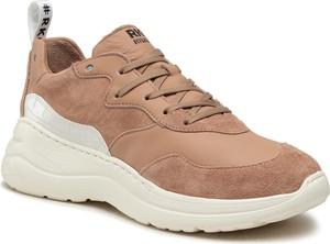 Buty sportowe Ryłko na platformie sznurowane