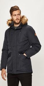 Czarna kurtka Blend w stylu casual