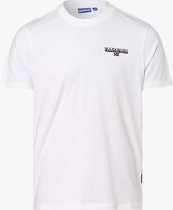 T-shirt Napapijri z dżerseju