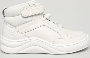 Buty sportowe Timberland ze skóry z płaską podeszwą