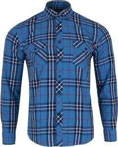 Niebieska koszula Speed.A z długim rękawem