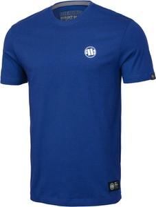 Niebieski t-shirt Pit Bull z krótkim rękawem