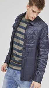 Granatowa kurtka Diverse w stylu casual