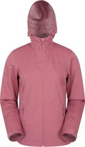 Różowa kurtka Mountain Warehouse w stylu casual z tkaniny krótka
