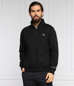 Czarna bluza Calvin Klein w stylu casual