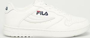 Buty sportowe Fila ze skóry ekologicznej z płaską podeszwą sznurowane