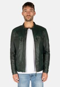 Kurtka Leather Hype ze skóry krótka