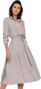 Sukienka Klaudyna Cerklewicz z długim rękawem