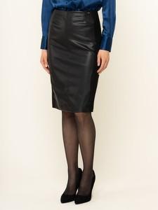 Spódnica Liu-Jo ze skóry mini