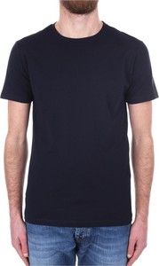 Niebieski t-shirt Replay w stylu casual