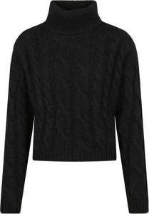 Czarny sweter Twinset z wełny