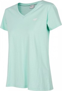 T-shirt 4F z bawełny z krótkim rękawem w sportowym stylu