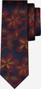Krawat Lambert w stylu boho z jedwabiu