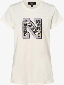 T-shirt Nikkie z okrągłym dekoltem z krótkim rękawem