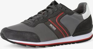 Buty sportowe Hugo Boss sznurowane z tkaniny