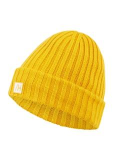 Żółta czapka Selected Homme