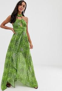 Sukienka Asos Design z dekoltem halter