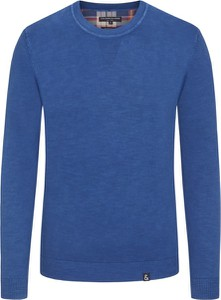 Niebieski sweter Colours & Sons z bawełny