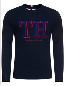 Granatowy sweter Tommy Hilfiger