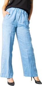 Niebieskie spodnie Sandro Ferrone