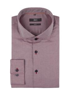 Różowa koszula Jake*s z bawełny z klasycznym kołnierzykiem