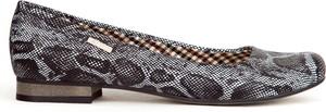 Baleriny Zapato ze skóry w stylu casual