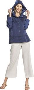 Niebieska kurtka Tiffi w stylu casual