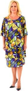 Sukienka Roxana - sukienki z długim rękawem z tkaniny
