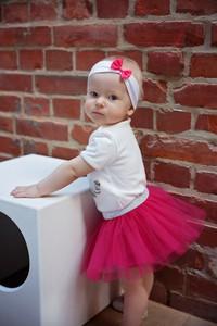 Różowa spódniczka dziewczęca Piccolino z tiulu