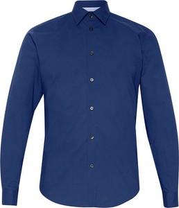 Niebieska koszula Esprit w stylu casual z klasycznym kołnierzykiem